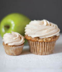 Crave Apple Spice Cupcake