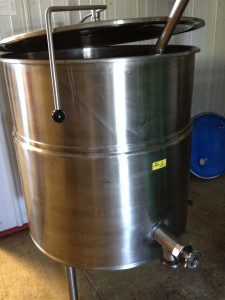 Used for pasteurization